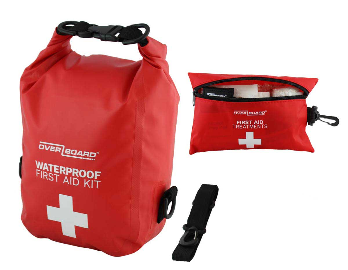 Waterproof First Aid Bag with Treatments - 3 Litres | OB1213R