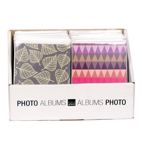 5X7 MINI ALBUM-36 PG ASSORTED COVERS