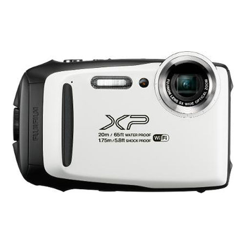 FUJI XP130 WHITE WATERPROOF FINEPIX CAMERA