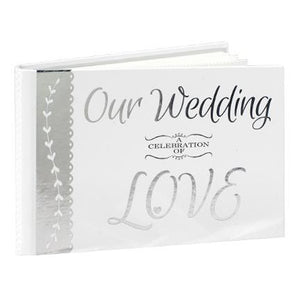 """OUR WEDDING A CELEBRATION OF LOVE"" PHOTO ALBUM HOLDS 40 PHOTOS"