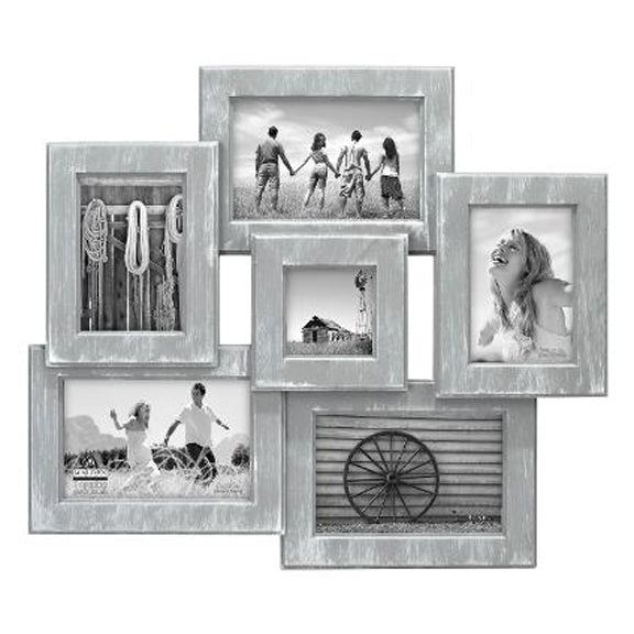 6 OPENING GREY COLLAGE FRAME