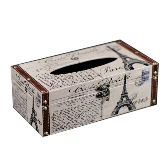 TISSUE BOX - PARIS CARTE POSTAL