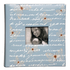 BLUE DRAGONFLY PHOTO ALBUM HOLDS 200