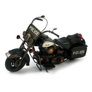 MOTORCYCLE  BLACK POLICE TYPE