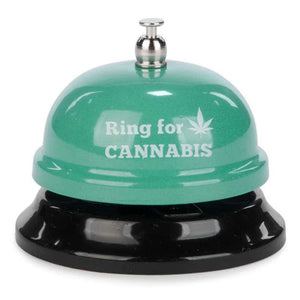 "BELL- ""RING FOR CANNABIS"
