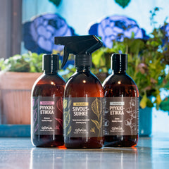 Clean home: Laundry vinegar & cleaning spray