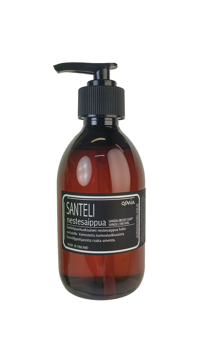 Osmia Sandalwood liquid soap