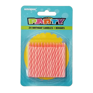 Spiral Birthday Candles