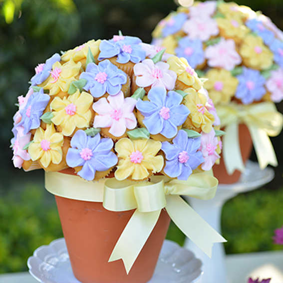 Easter Cupcakes Bouquet