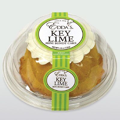 Key Lime Mini Bundt Cake