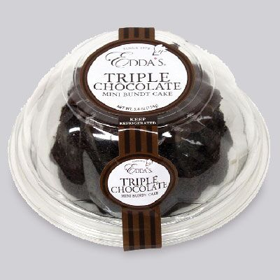 Triple Chocolate Mini Bundt Cake