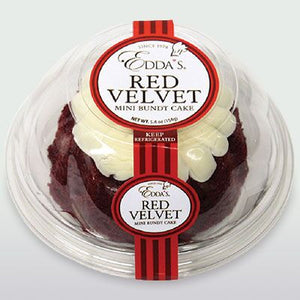 Red Velvet Mini Bundt Cake