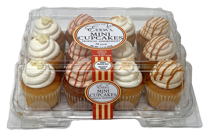 Mini Cupcake Tropical 12 Pack