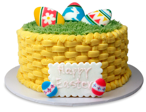"6"" Easter Basket Cake"