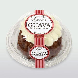 Guava Mini Bundt Cake