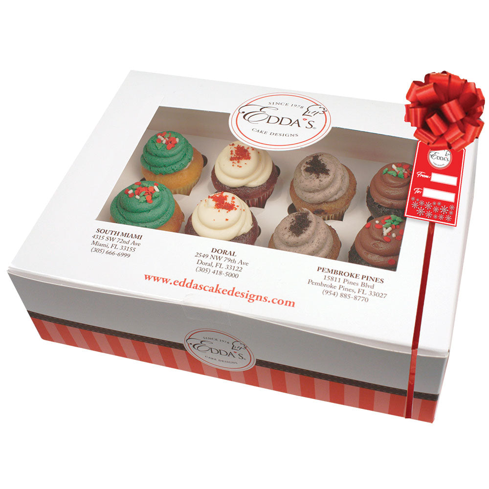 Holiday Gift Guide Mini Cupcakes 12pk
