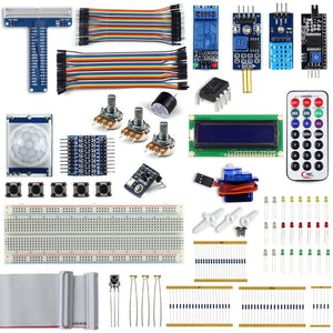 Complete Upgraded Starter Kit for Raspberry Pi 3