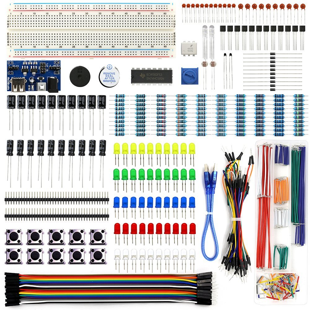 Electronics Component Starter Kit for Raspberry Pi