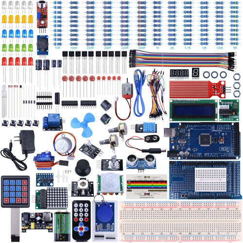 Mega2560 UNO Kit for Arduino with Tutorials, Complete Starter Kit