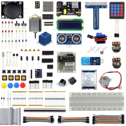 Starter Learning Kit for Raspberry Pi 3 (205 items)