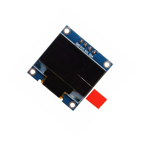 0.96 Inch 128x64 White SPI OLED Display Module(4 pin)