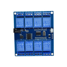 DC 5V 10A 8 Channel Relay Module Micro USB Board With Indicator PC Upper Computer ICSE014A Software Control