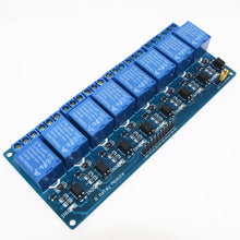 5V 8 channel relay control panel PLC relay  module