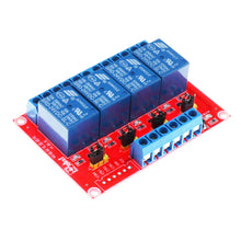 24v 4 Channel Relay Board Module
