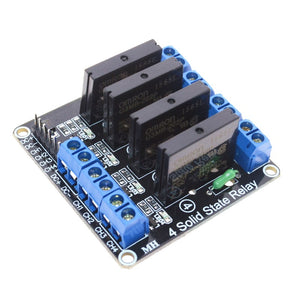 5V 4 Channel OMRON SSR High Level Solid State Relay Module