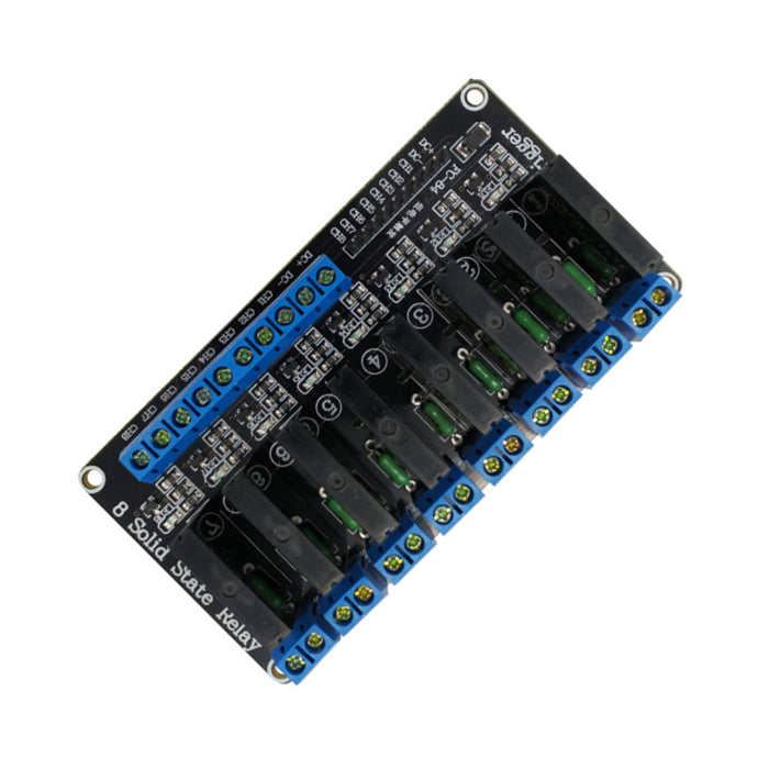 8-Channel 5V 2A Solid State Relay, High Level Trigger