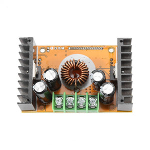 DC 10A buck power supply module  CC+CV LCD screen