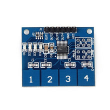 TTP224 4 Channel Digital Capacitive Switch Touch Sensor Module