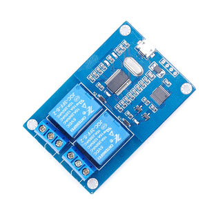 MICRO USB Relay Module 5v 2 Channel Relay Module