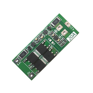 2S 20A 8.4V 18650 Lithium Battery Protection Board Current with Balancing