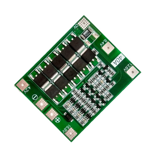 4S 40A Li-ion Lithium BMS Battery Protection Board (Standard/Enhance/Balance)
