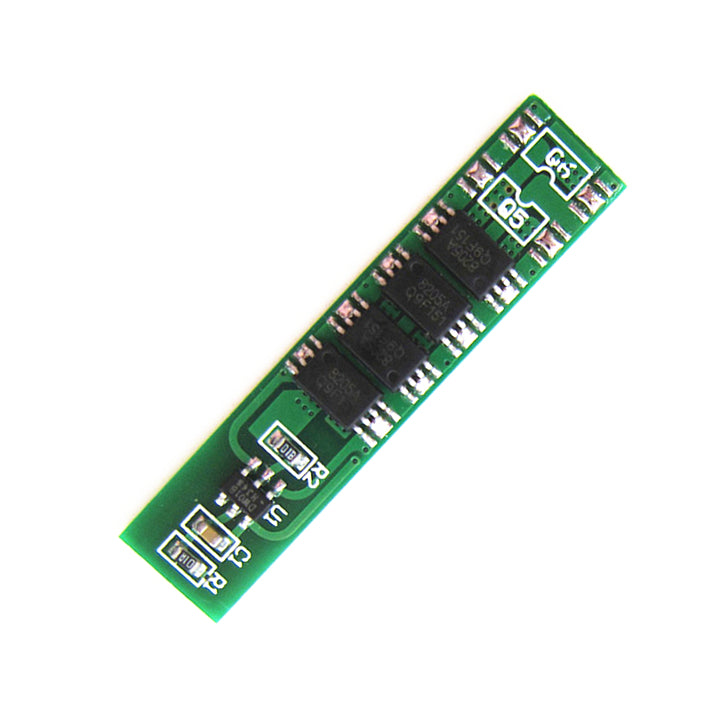 1S 3.7V 10A li-ion BMS PCM battery protection board