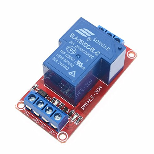 5V/12V 30A Two-way isolation relay module High/low level trigger