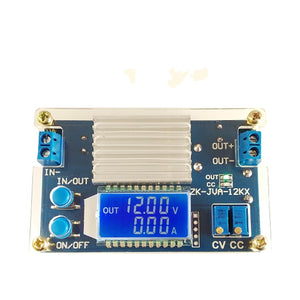 12A constant voltage&current LCD digital display adjustable step-down power supply module