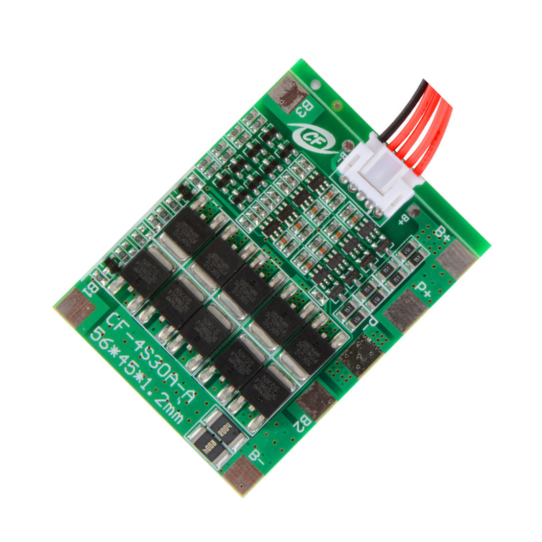 4S 30A Lithium/Lithium iron phosphate BMS Protection Board