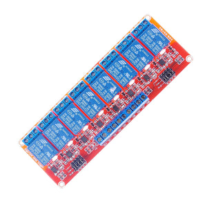 8-Channel Relay Module DC 24V with Optocoupler isolation H/L high/low Level Triger for Arduino