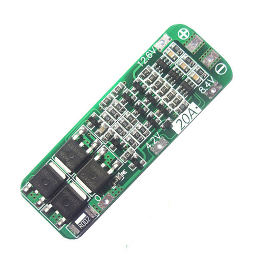 3S 20A 12.6V Li-ion Lithium Battery 18650 Charger PCB BMS Protection Board