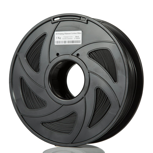 3D Printing 1.75mm Carbon Filbre Black Filament