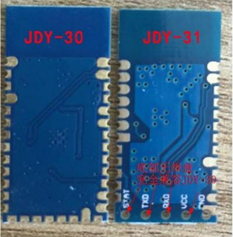 JDY-31 Bluetooth 3.0 Bluetooth Module Serial Port 2.4G SPP Transparent Transmission Compatible with HC-05 06 JDY-30