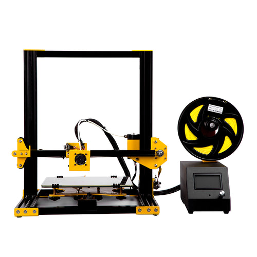 Sunhokey 2018 Plus size high precision Aluminum Metal Frame 3D Printer Kit Sunhokey S1