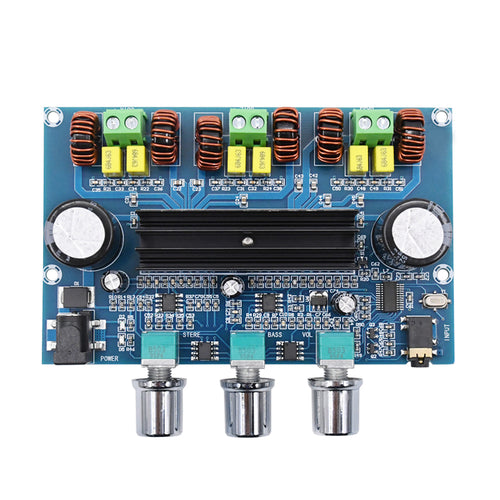 XH-A305 Bluetooth digital power amplifier board TPA3116 Bluetooth 5.0 amplifier board 2.1 channel high power DIY