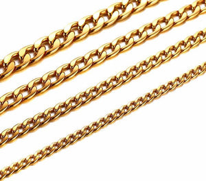 18k Gold Plated Cuban Link Chain