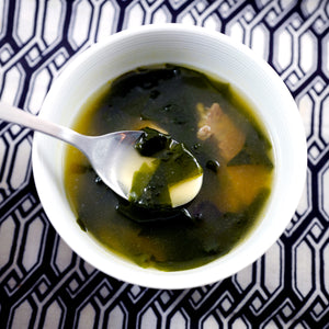 Korean Beef Seaweed Soup