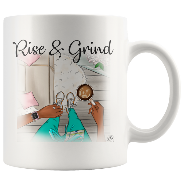 Nurse Practitioner Mug - 11 oz - Larissa