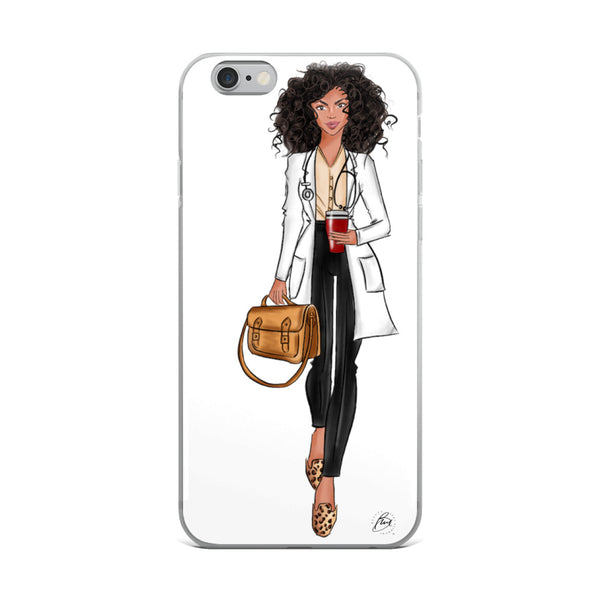 Illustrated Flexible iPhone Case - Cara