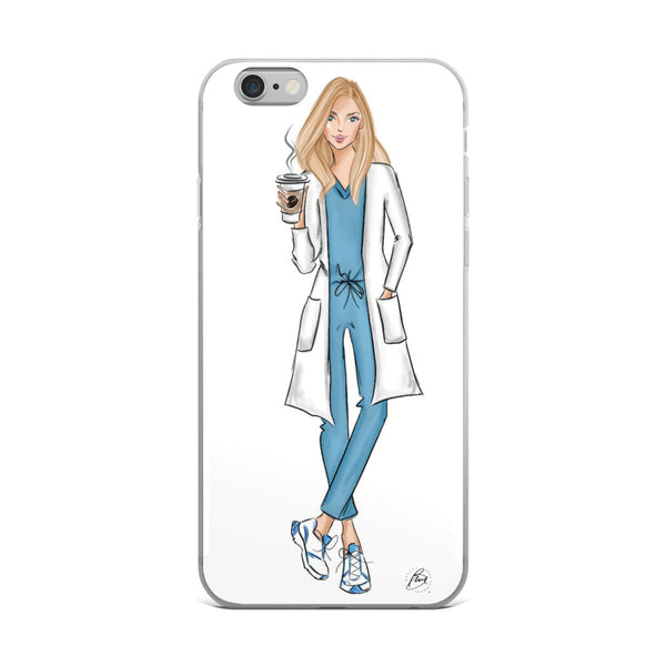 Illustrated Flexible iPhone Case - Blaire